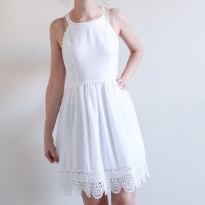 White ModCloth dress